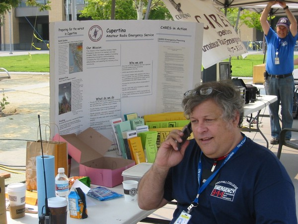 ... Ham Radio and emergency preparedness written and printed by Santa Clara ...